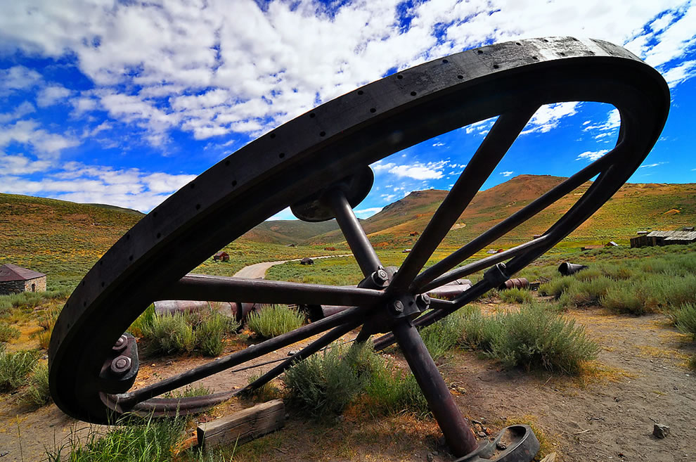 Big Wheel in Bodie