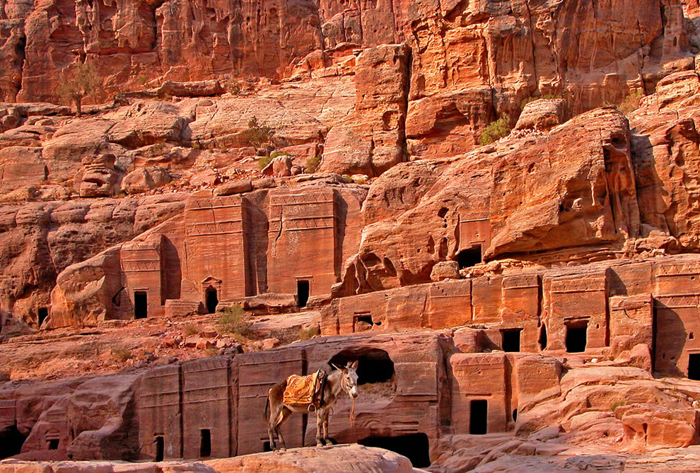 Petra -Jordan Tombs