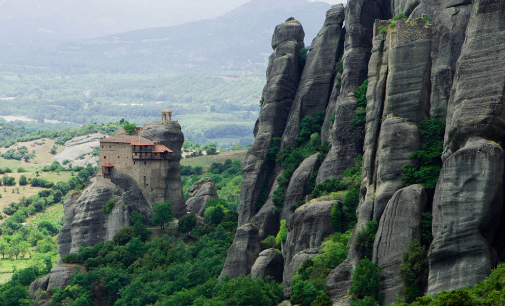 Meteora - The Holy Monastery of St. Nicholas Anapausas