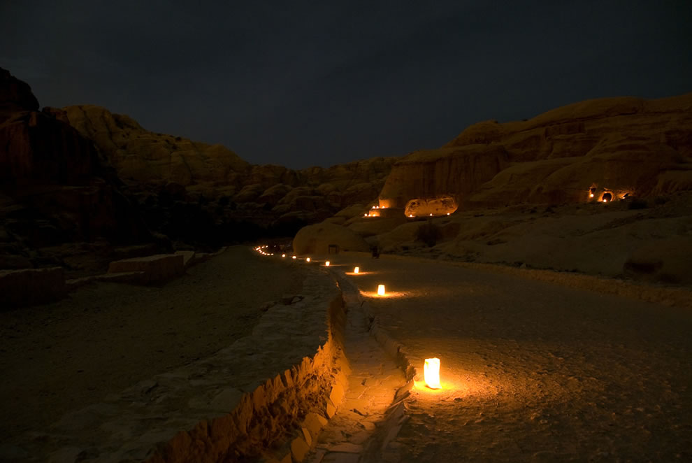 Petra Midnight Pilgrimage