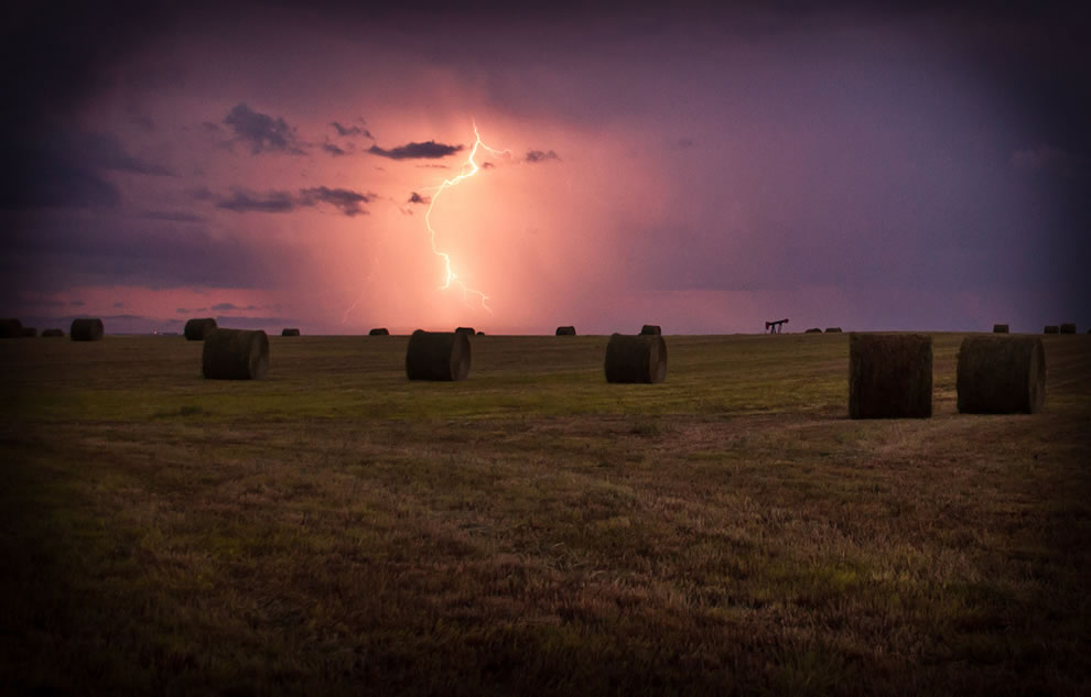 Prairie Lightning Storm