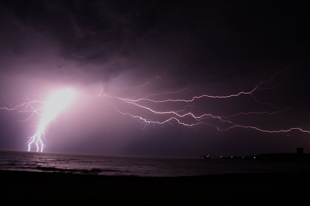 Shellharbour; Lightning