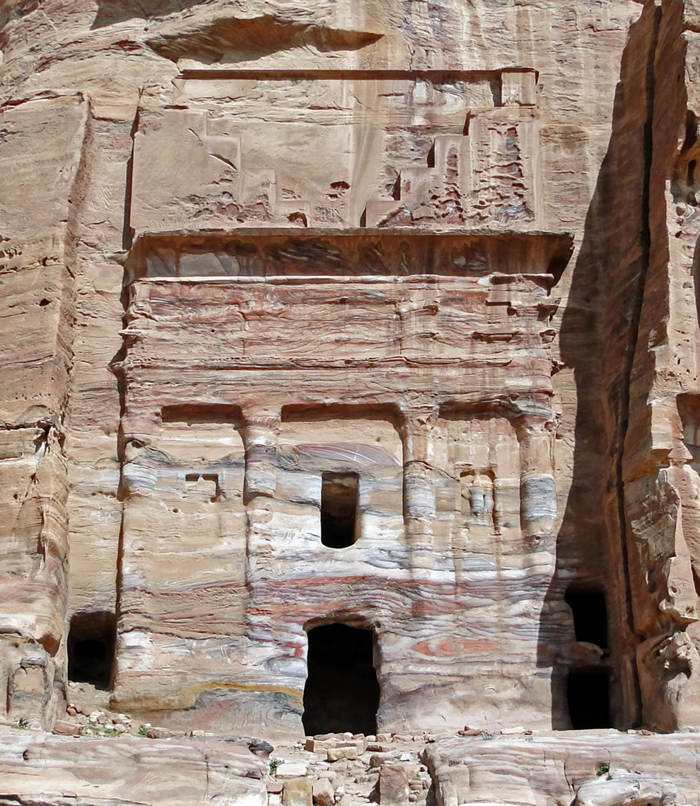 The Silk Tomb, Petra, Jordan