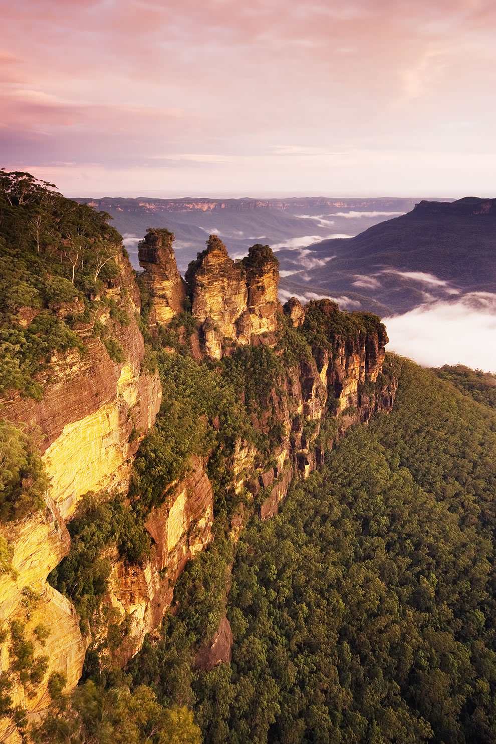 The Three Sisters, Katoomba, New South Wales, Australia