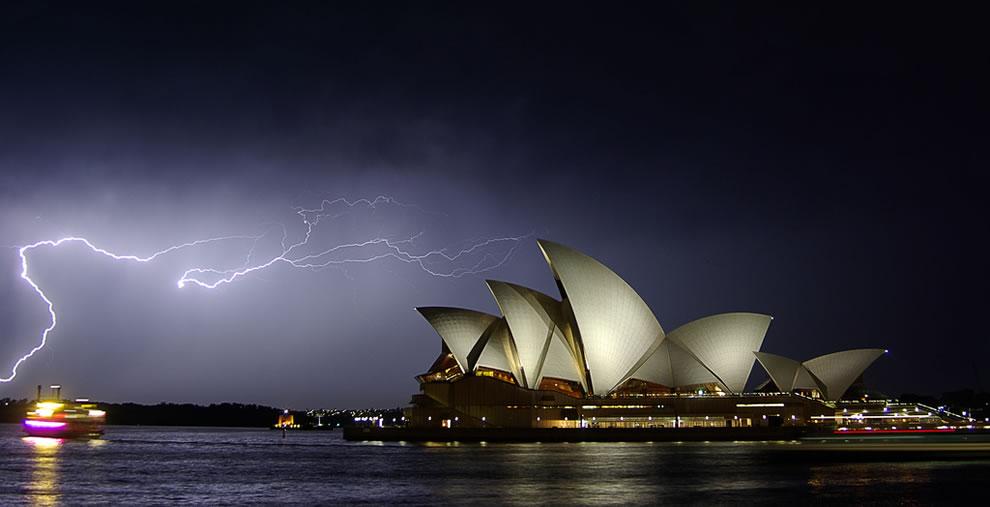 Lightning over Australia