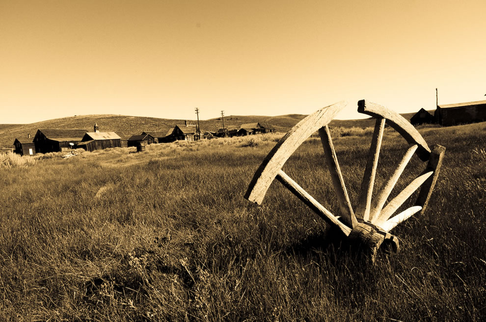 Old West transport failure - Ghost Town of Bodie