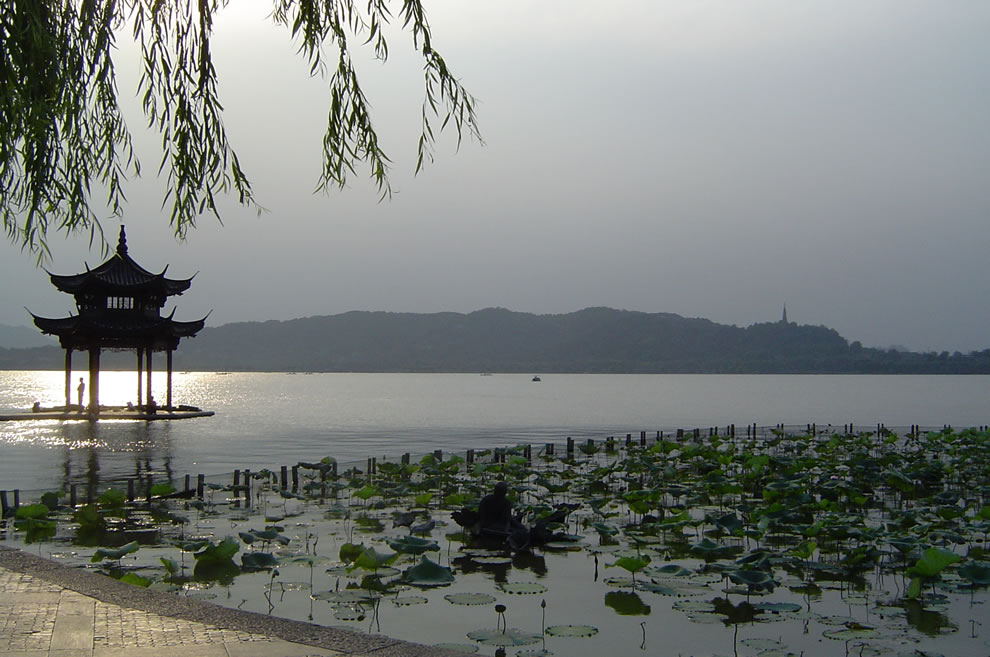 Chinese Gardens at China's famous West Lake