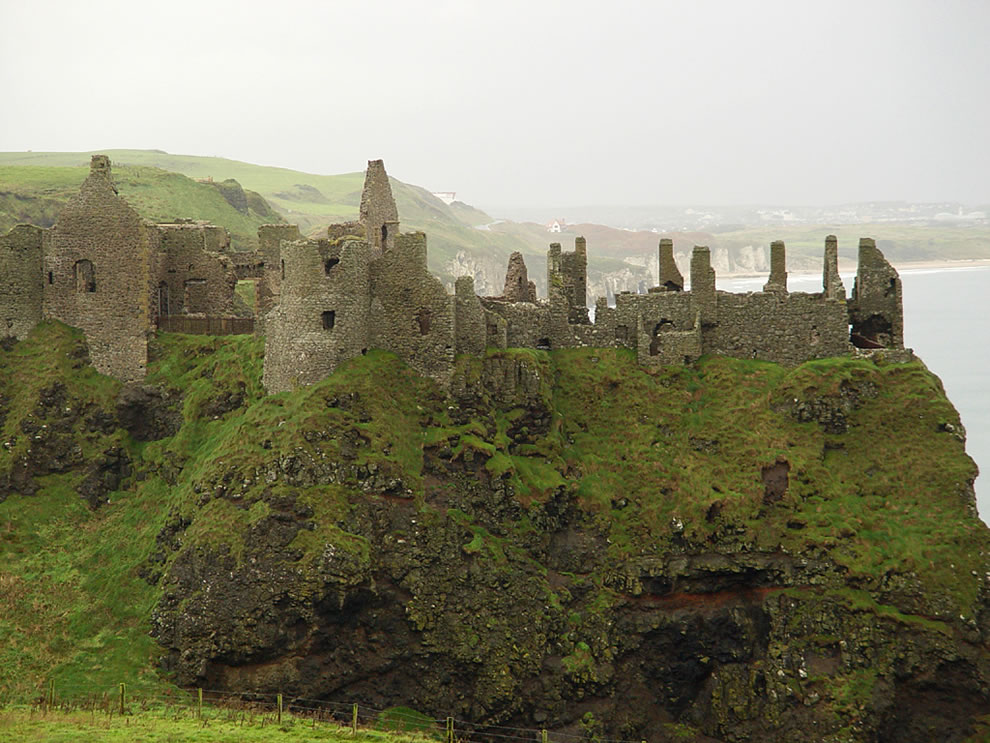 Dunluce Castle now in Ireland - st patricks day