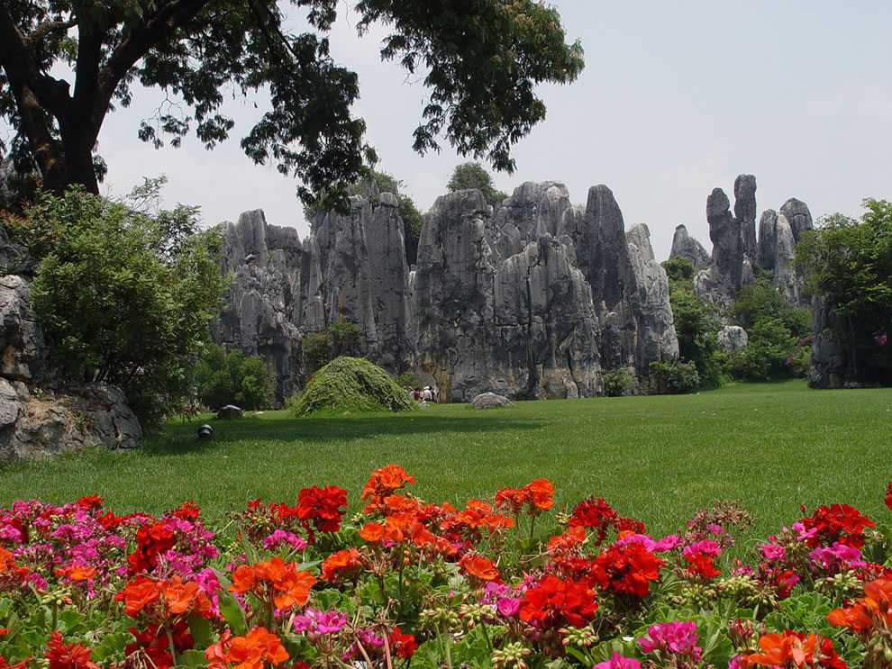 Gardens of Shilin at Stone Forest, China