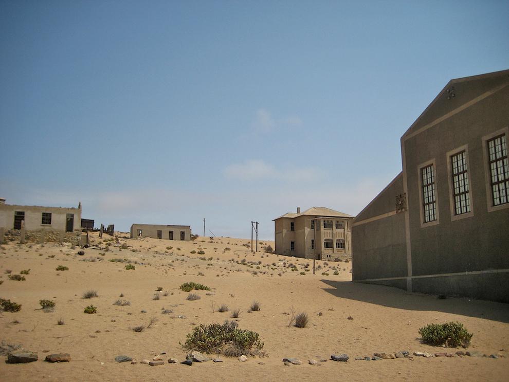 Kolmanskop in Lüderitz, Namibia