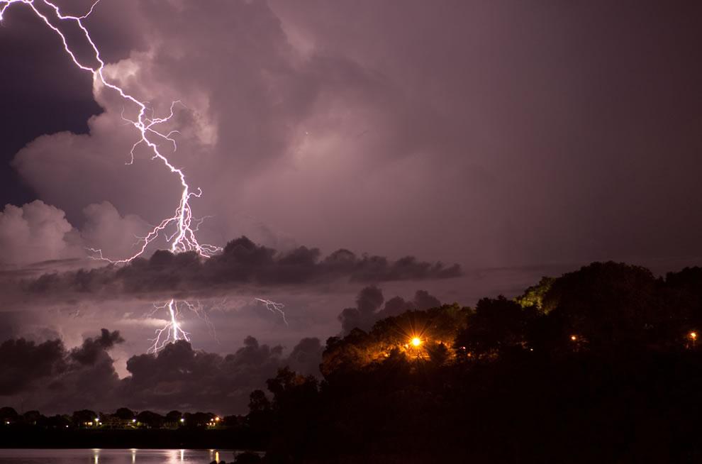 Lightning Darwin Australia