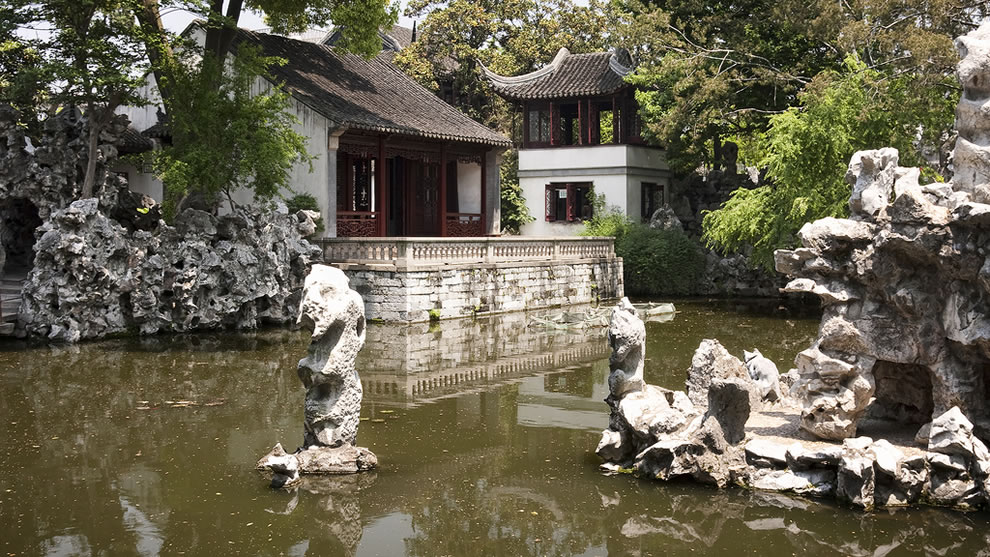 Chinese Gardens - Lion Forest Garden in China