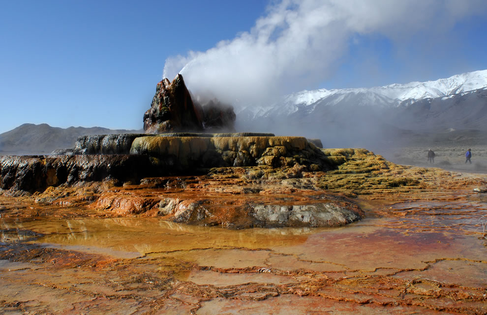 People found on Mars - no it's Fly Geyser