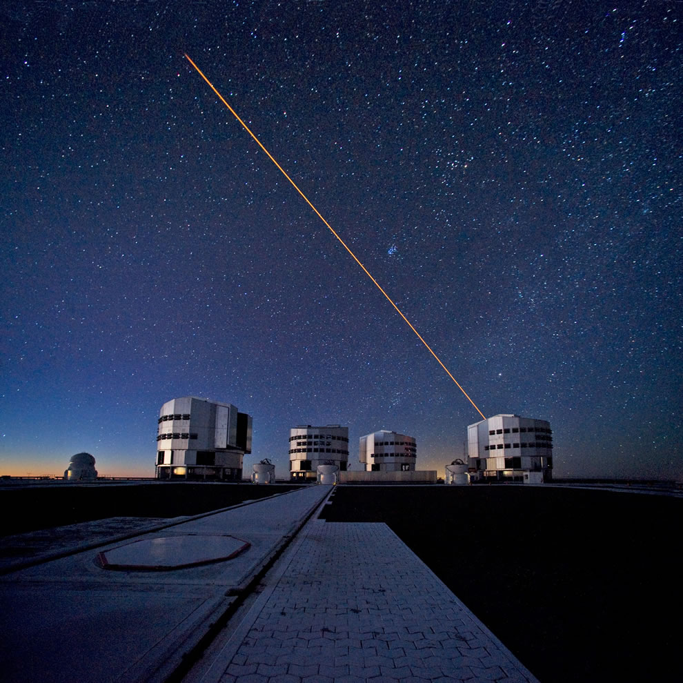 ESO - The VLT in Action