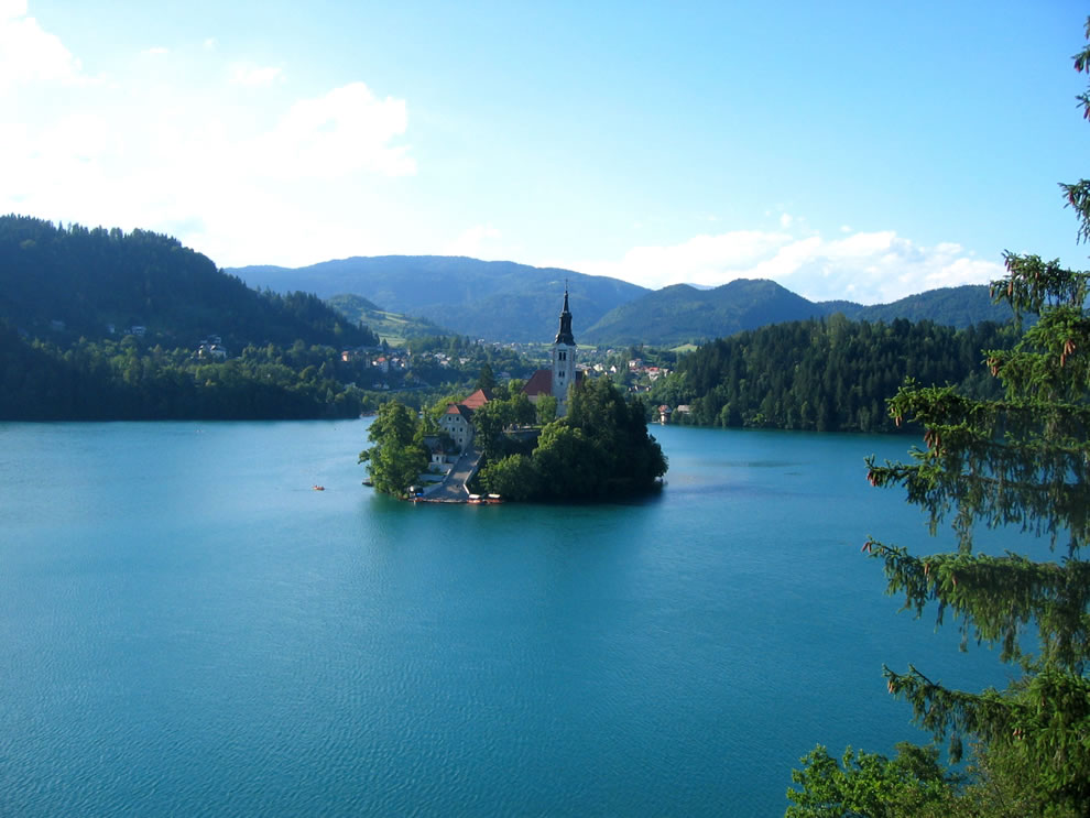 bled island, slovenia