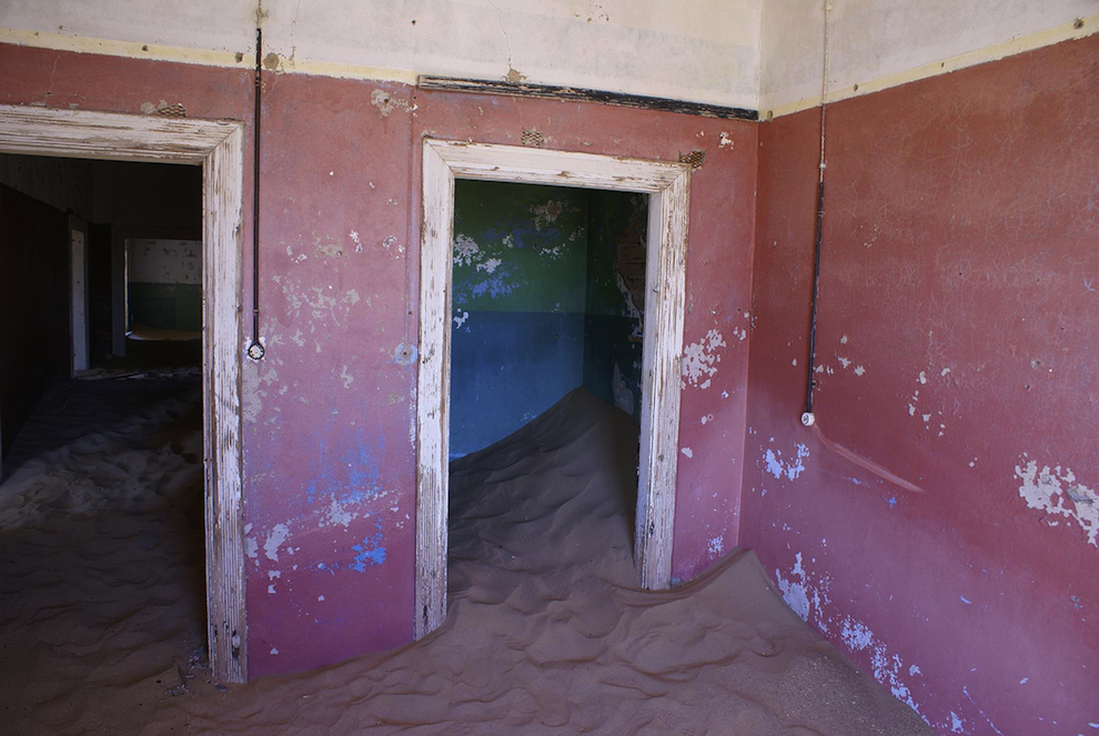 ghost town of kolmanskop