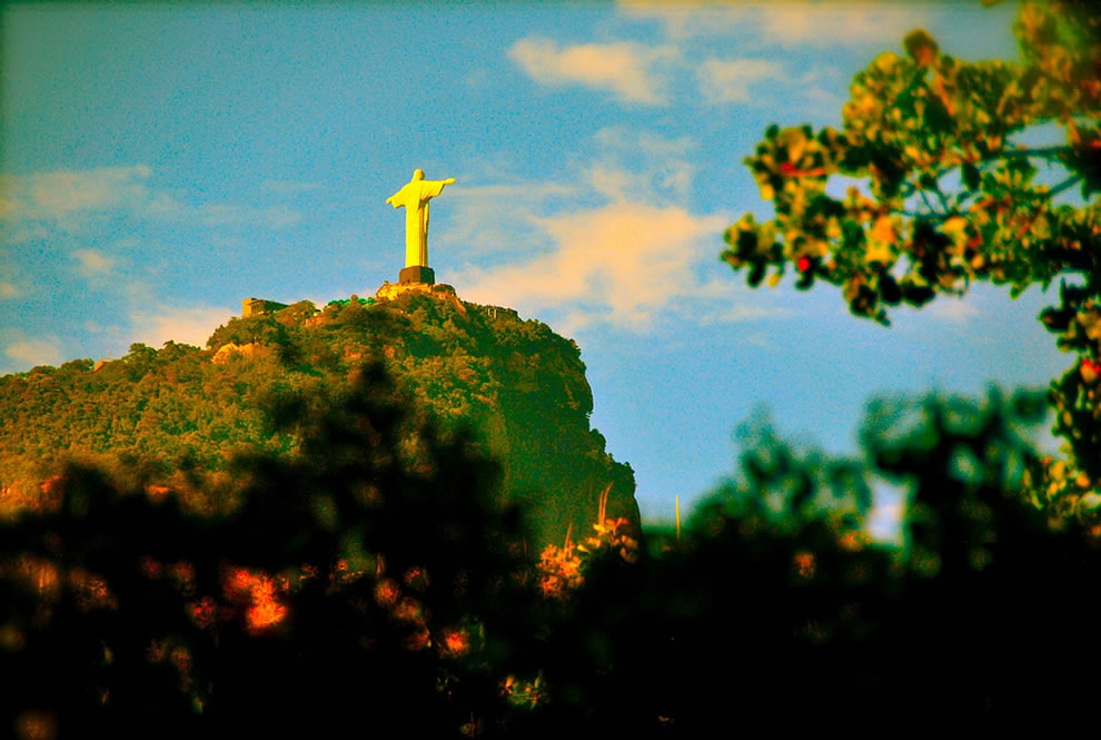 Christ Redeemer - Rio de Janeiro View from the Botanic Garden