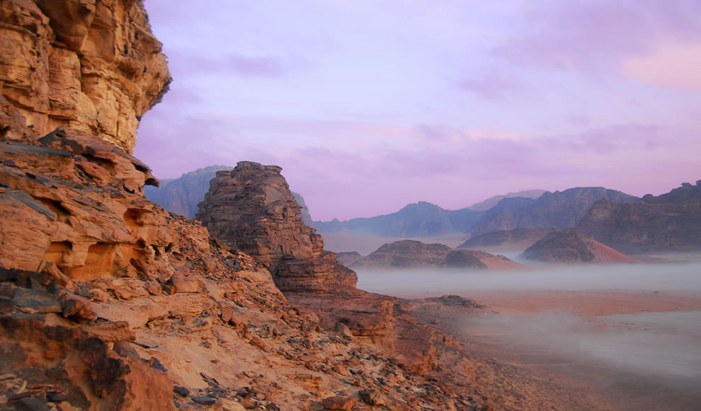 Dawn at Wadi Rum