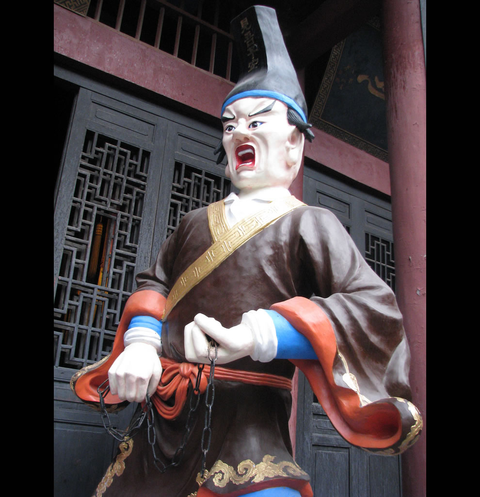 Freaky China Torturer at Fengdu City of Ghosts