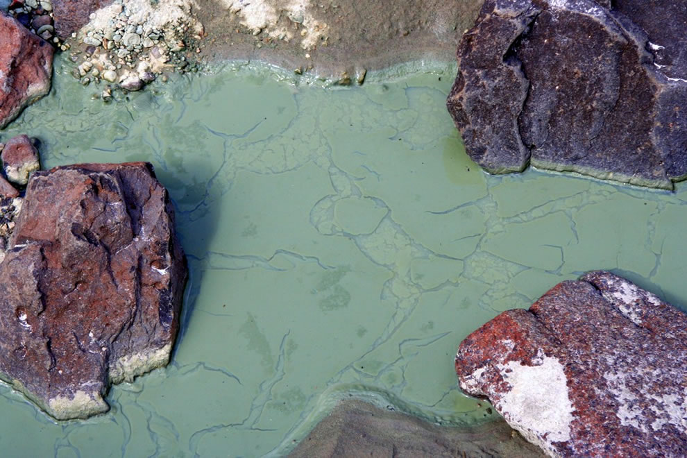 Green Mud in Turtle Cove - part of John Day Fossil Beds National Monument