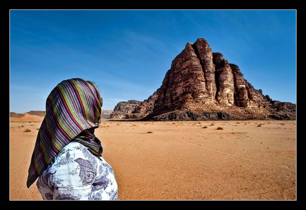 Jordan - Wadi Rum - Seven Pillars of Wisdom