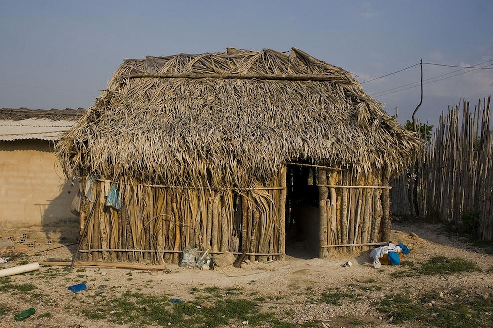 Kalunga hut at Chapada dos Veadeiros