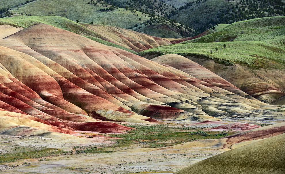 Multi Color Hills - wow @ John Day Fossil Beds National Monument