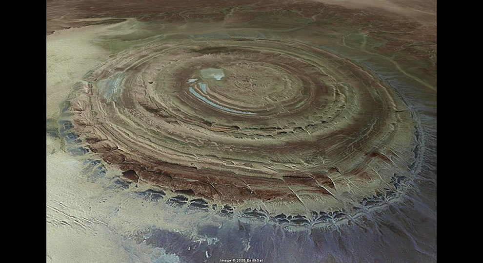 Richat Structure - Eye of Africa