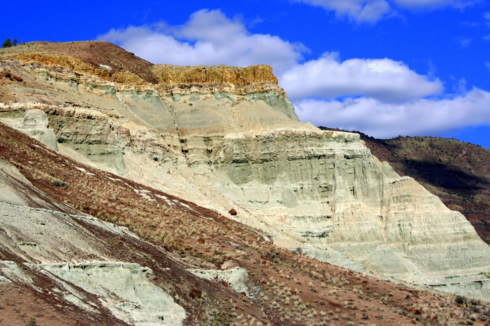 Volcanic Layers at John Day Fossil Beds National Monument