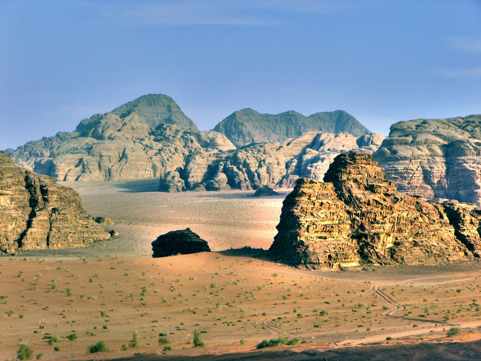 Wadi Rum Valle de la Luna - the valley of the moon