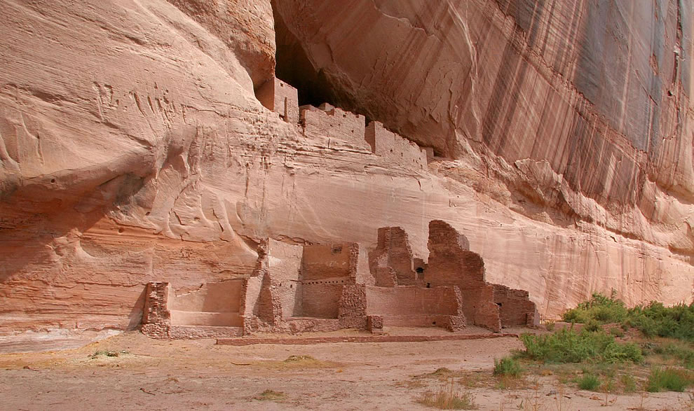 canyon de Chelly National Monument, Arizona, USA. White House Ruin