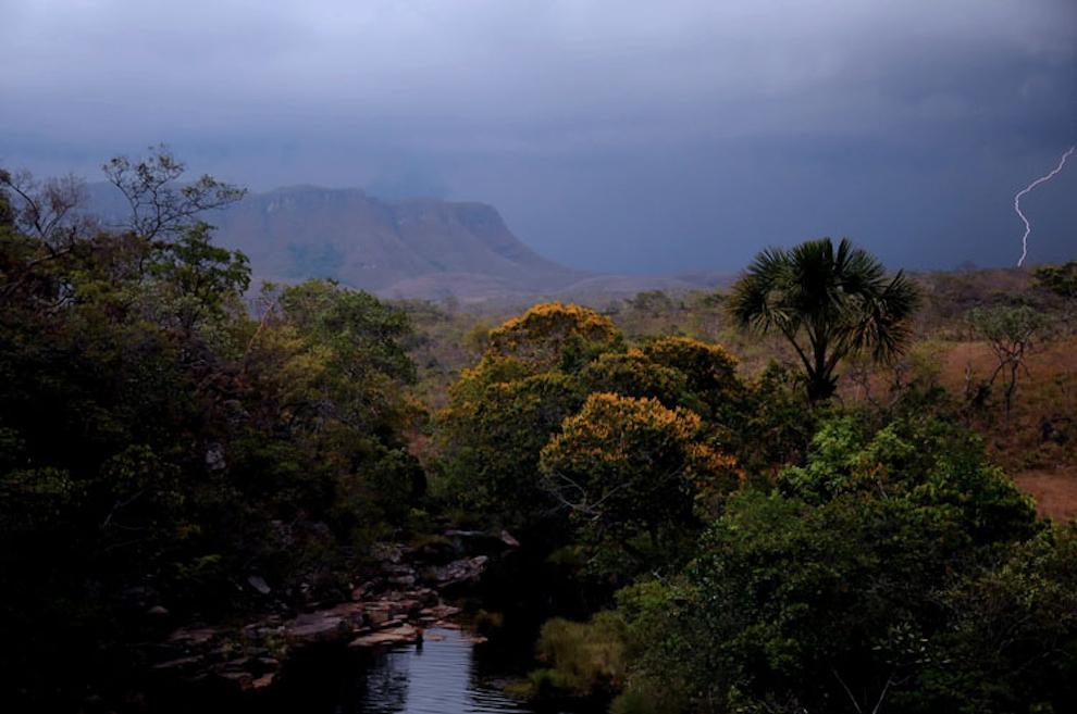 storm & lightning at Chapada dos Veadeiros