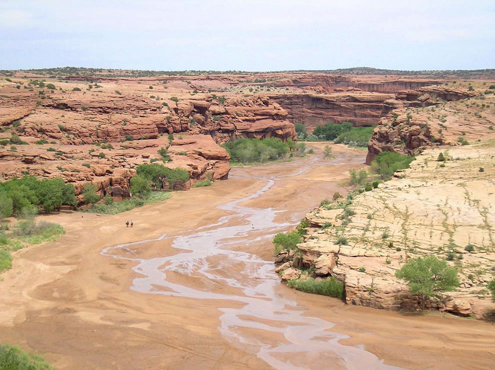 Canyon de Chelly National Park - view of canyon mouth