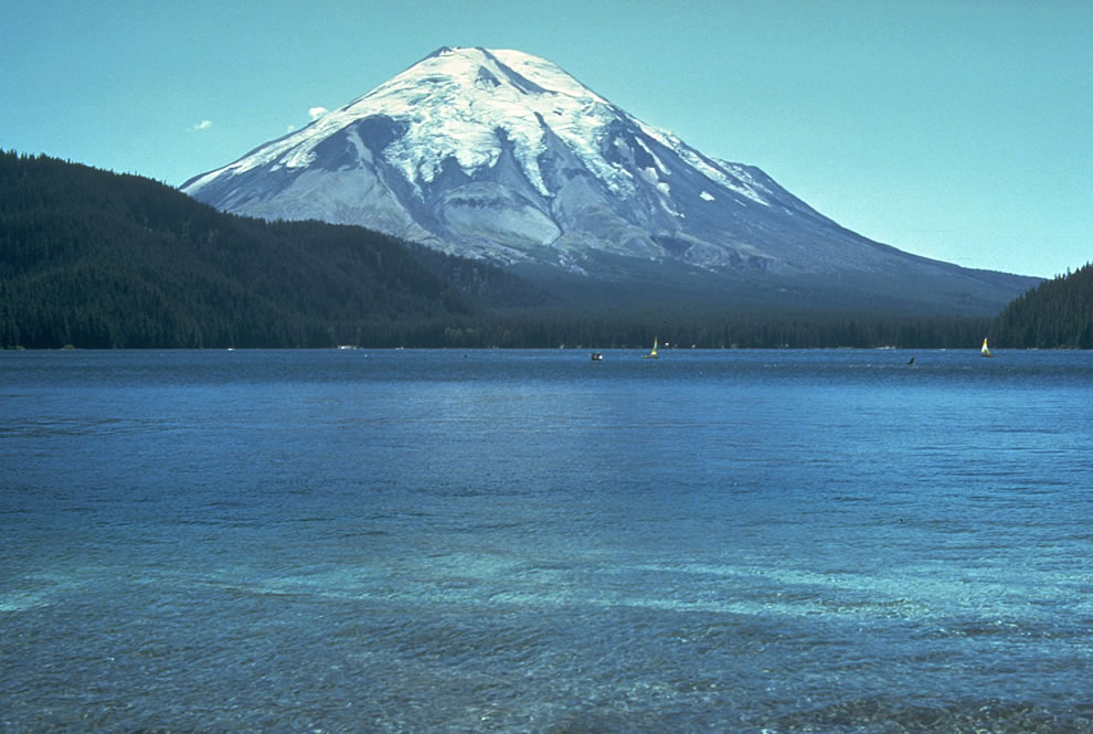 1980 Mt St Helens BEFORE eruption