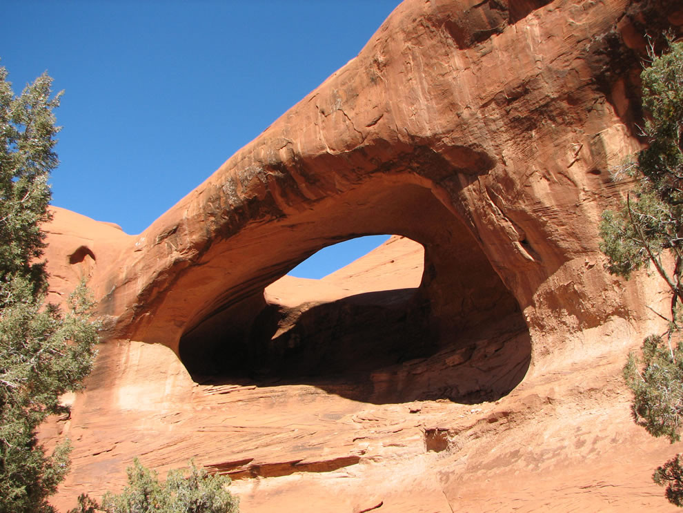 Stout Arch, Mystery Valley, Monument Valley Navajo Tribal Park, Arizona, USA