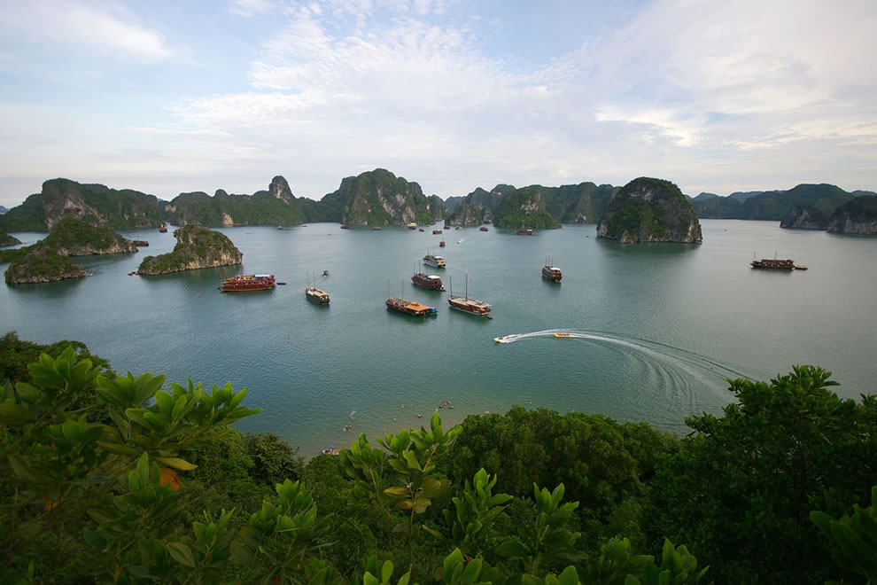 Along Halong Bay