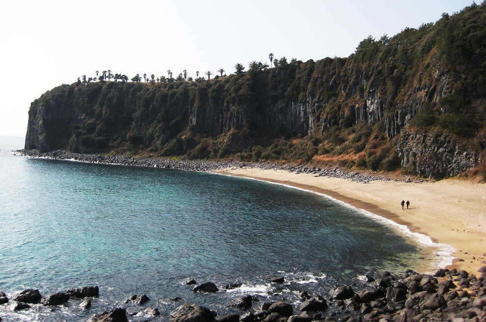 Jeju a lovely beach