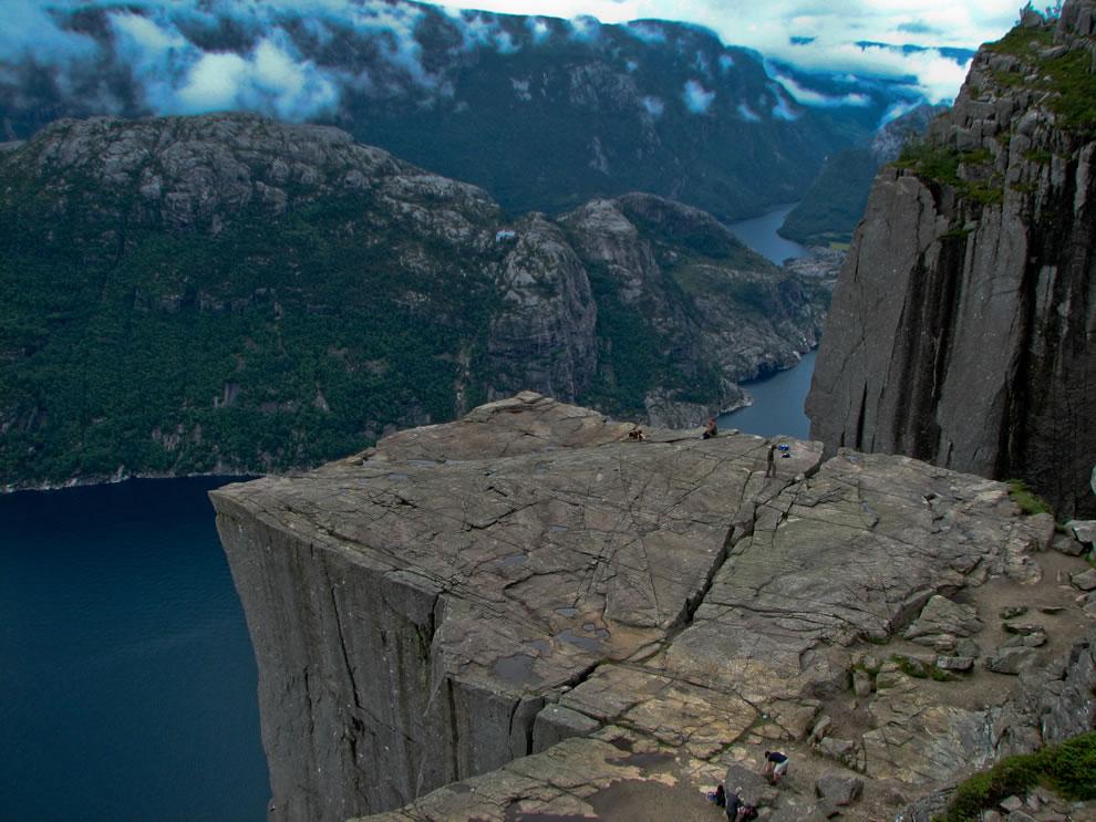 Lysefjord - Preikestolen - Norway Cliffs