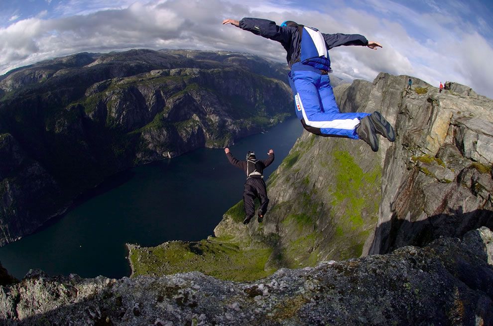 Norway cliffs - BASE Jumper's paradise