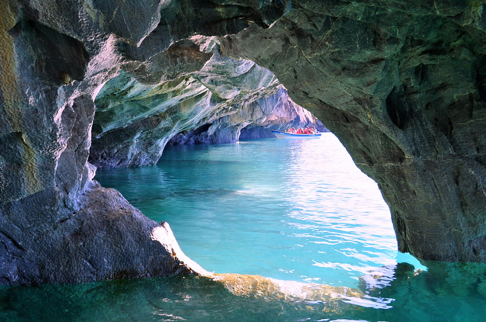 Reserva Nacional Cavernas de Marmol - Lago General Carrera Cavernas de Marmol - Patagonia Chilena