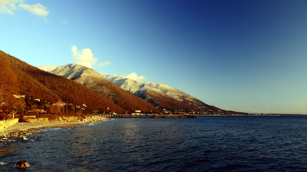 Still gorgeous Gagra
