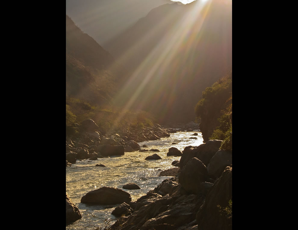 Choquequirao -  Crossing the Apurimac, the river that speaks