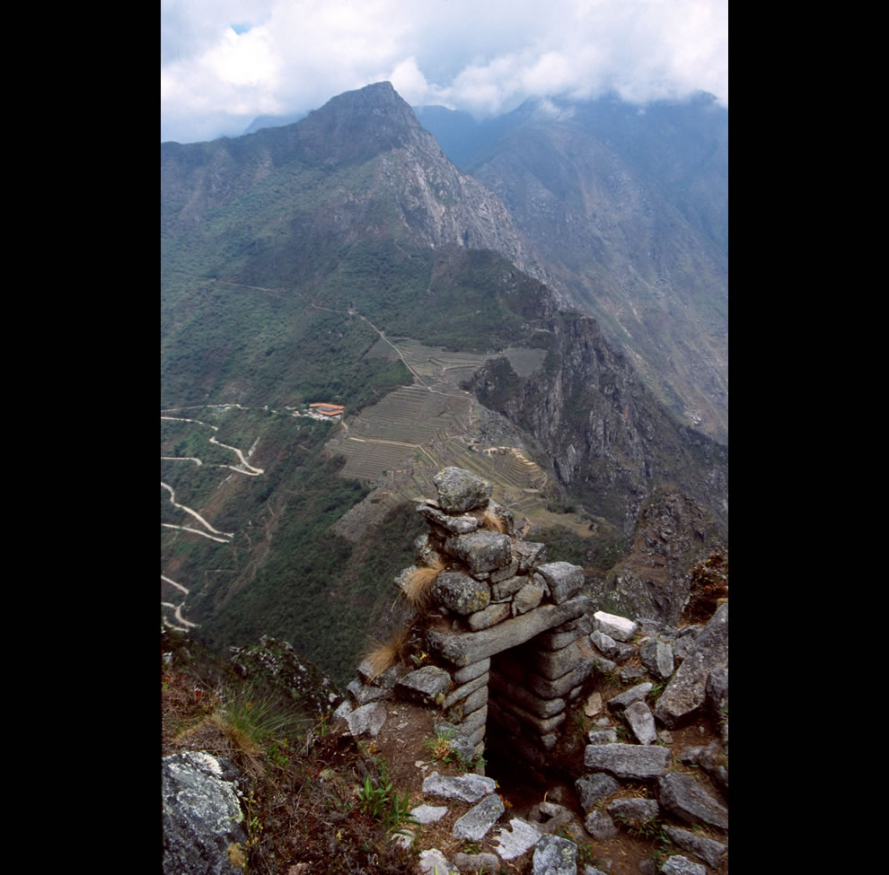 Machu Picchu from the top of Wayna Picchu