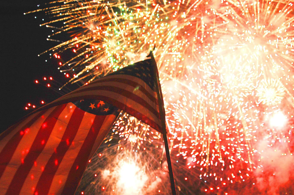 Yongsan Garrison Republic of Korea - A fireworks display will culminate a day-long July 4th celebration at Yongsan Garrison
