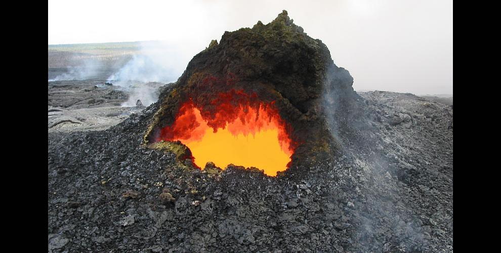 Skylight, Kilauea Volcano, Hawai`i