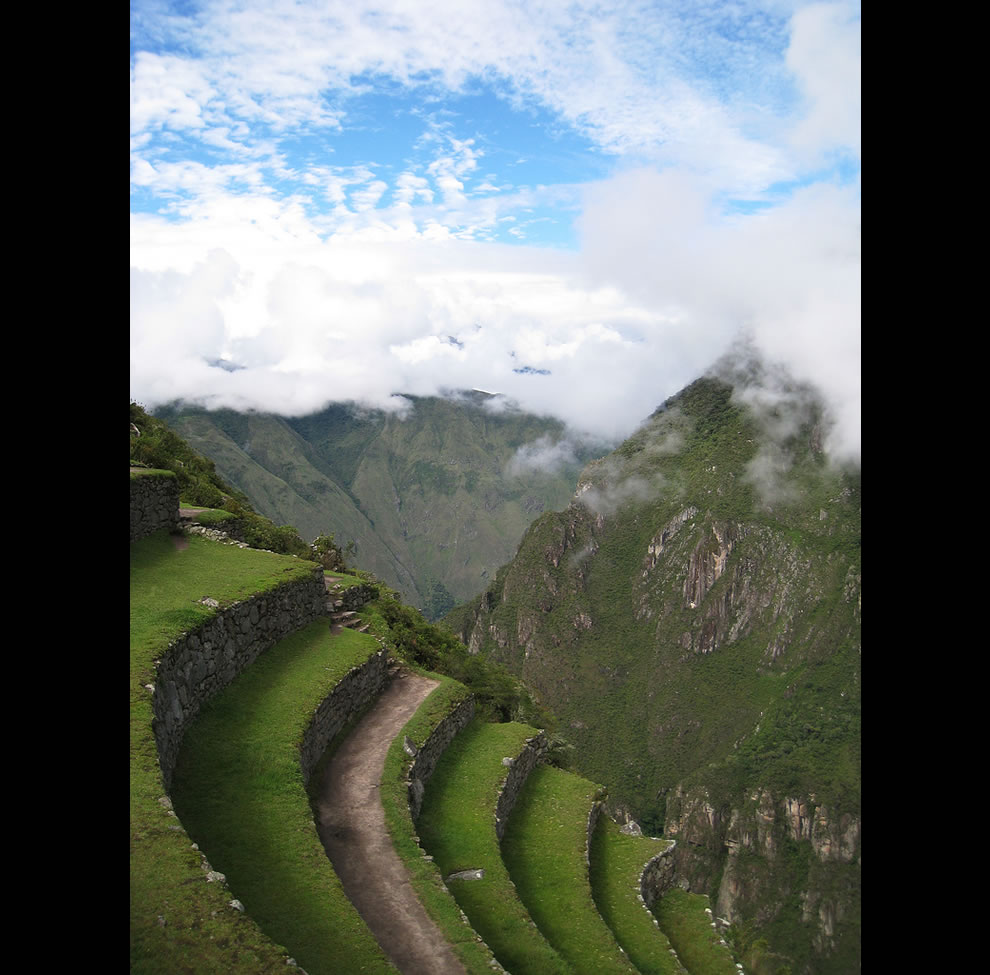 Terraces over Space - Machu Picchu