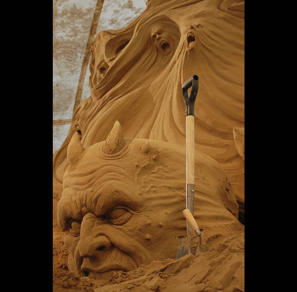 making of a sand demon