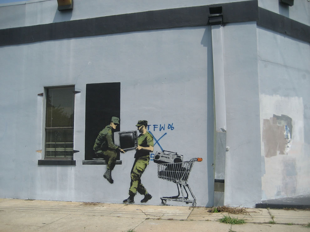 Banksy Looters