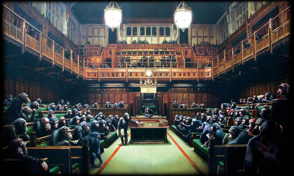 Banksy question time
