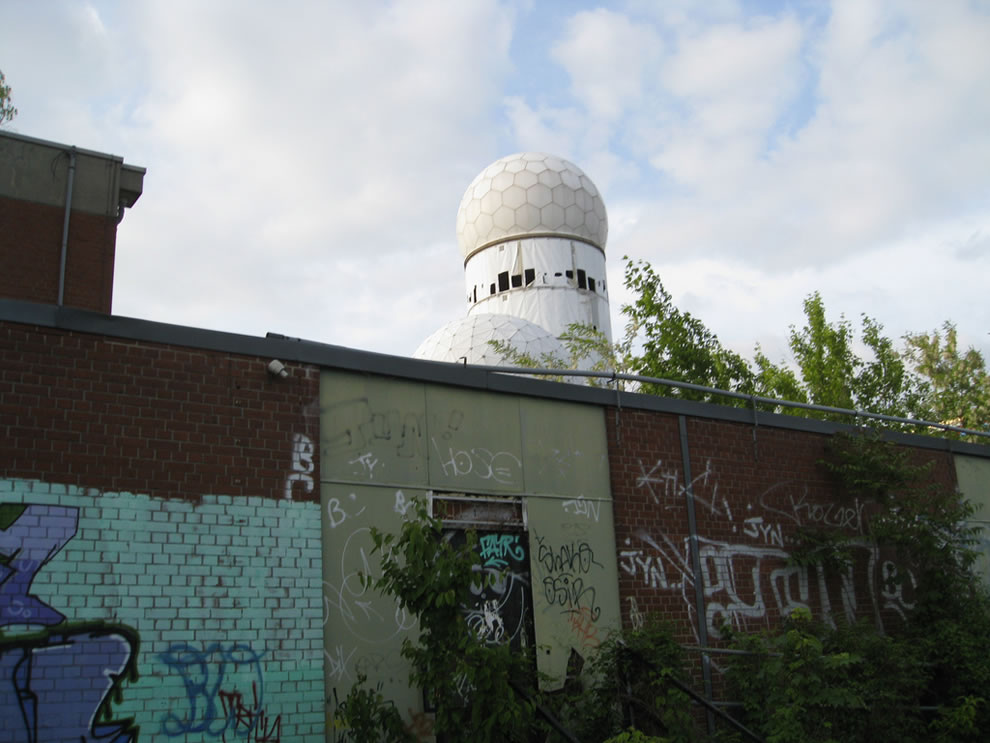 Former NSA American military radio installation at Teufelsberg